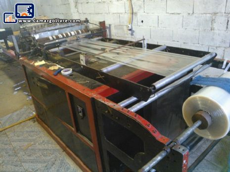 Cutting and welding of PP/PE side bag