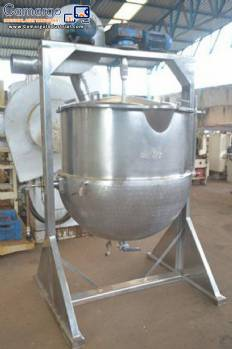 Industrial candy cooker 800 L Biasinox