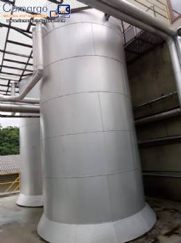 Jacketed tank for 40,000 liters