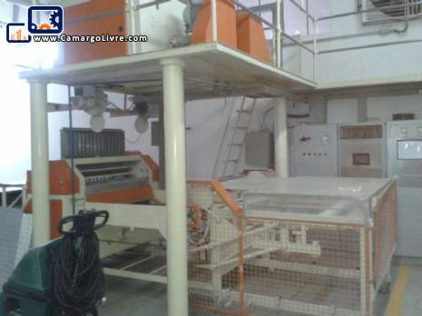 Complete line Braibant for the production of angel hair pasta