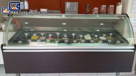 Ice cream display stand Isa