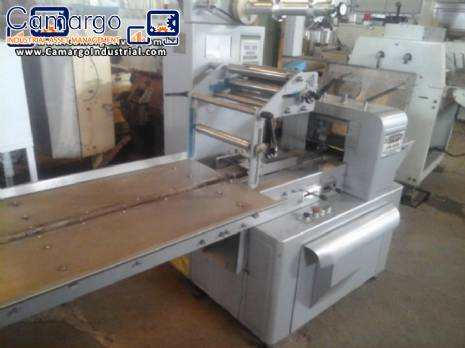 Varied flow pack wrapping machines