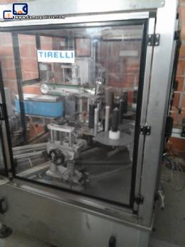 Tirelli labeller for bottles, Cologne and perfumes
