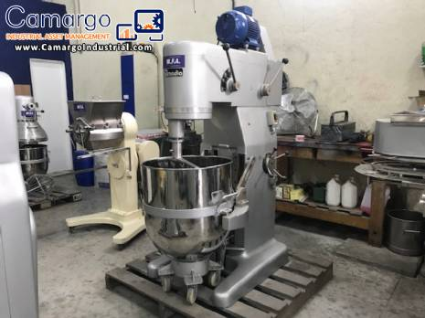 Planetary shaker in stainless steel 130 L Amadio