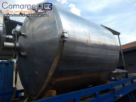 Stainless steel 316 tank 10.000 L