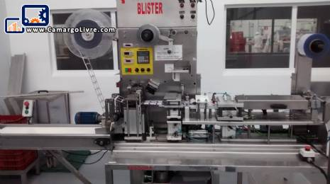 Automatic thermoformer, filling and blister Capper