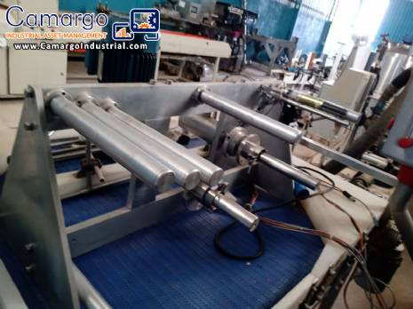 Rewinder unwinder for labels packaging and plastic films