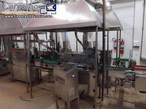 Multi-head canning jars filling machine Maqinox