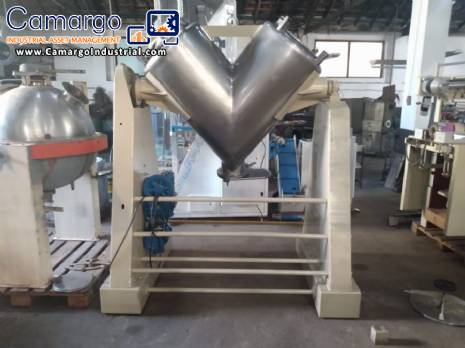 V shaped mixer stainless steel 300 L
