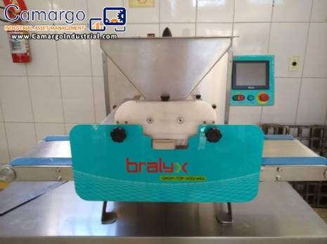 Dosing and extruder of sweets and salted Bralyx