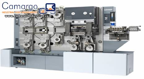 Machines for bending and stamping parts and profiles of aluminium and plastic.