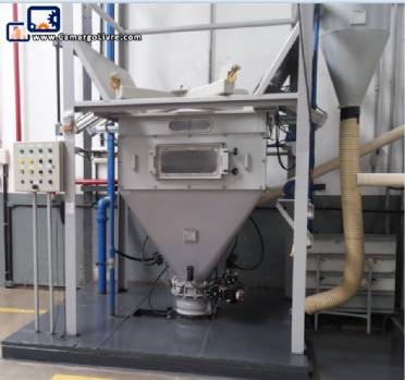 Weighing and mixing system Dynamic Air for granular powder