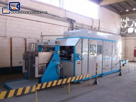 Automatic vacuum forming thermoforming machine Dae Kwang