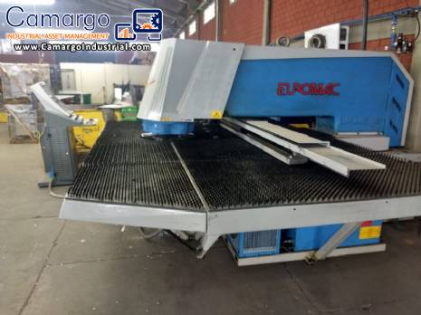 Punching machine for sheet metal Euromac