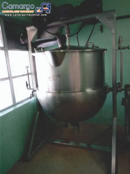 Stainless steel candy cooking