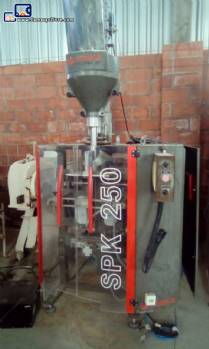 Vertical powder wrapping machine Serpack