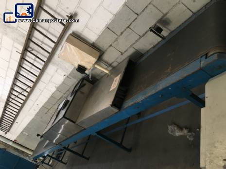 Conveyor with sterilizer